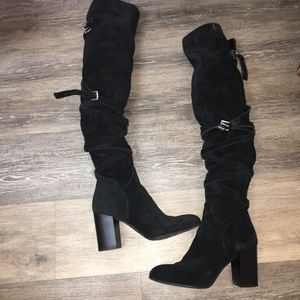 Sam Edelman suede otk boots light used condition